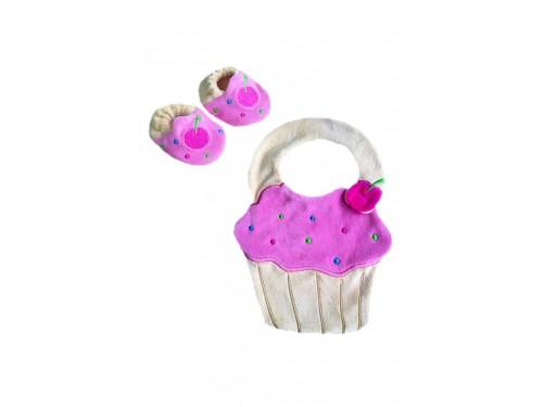 Cupcake Önlük Set