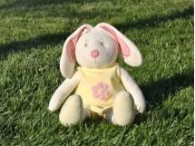 Balerina Tavşan Sarı 45cm